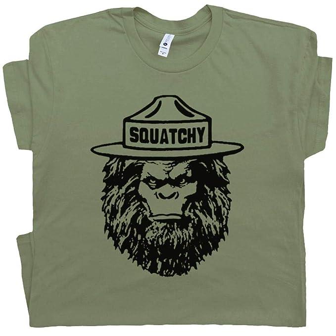 7de02674 S - Squatchy Shirt Sasquatch Tee Bigfoot Appalachian Trail Hiking Smokey  The Great Smoky Mountains Bear