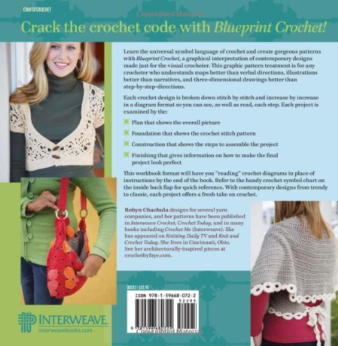 Blueprint crochet modern designs for the visual crocheter robyn blueprint crochet modern designs for the visual crocheter robyn chachula 9781596680722 amazon books malvernweather Choice Image