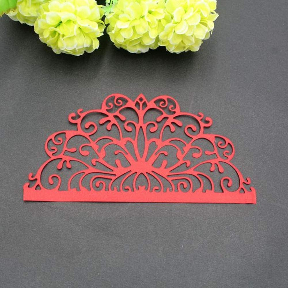01 Cutting Dies for Card Making New ZECNG Carbon Steel Plant Flower Leaf Die Cuts Stencils Tool for Paper Crafting//Scrapbooking//Embossing//Photo Album Decor//DIY Craft//Gift