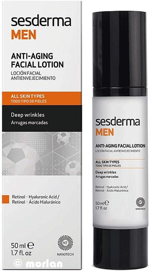 Sesderma Men Neceser (Gel Afeitado + Loción Facial Antienvejecimiento)