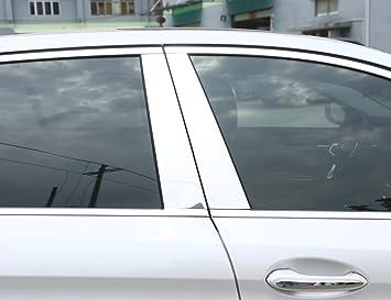 METYOUCAR pulido ventana trasera de aluminio pilar Post Trim: Amazon.es: Coche y moto