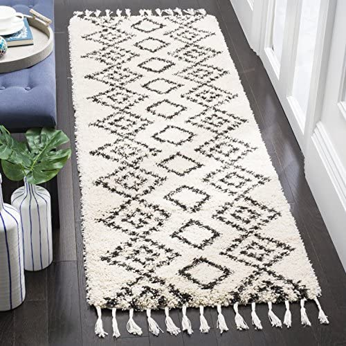 "Safavieh MFG245B-25 Area Rug 2'3"" x 5' Cream/Charcoal"
