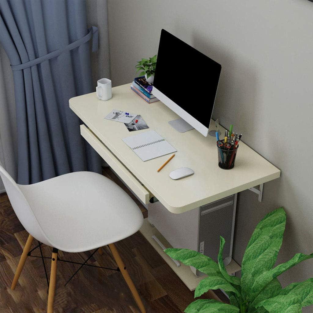 Escritorio para ordenador de pared, mesa flotante para el ...