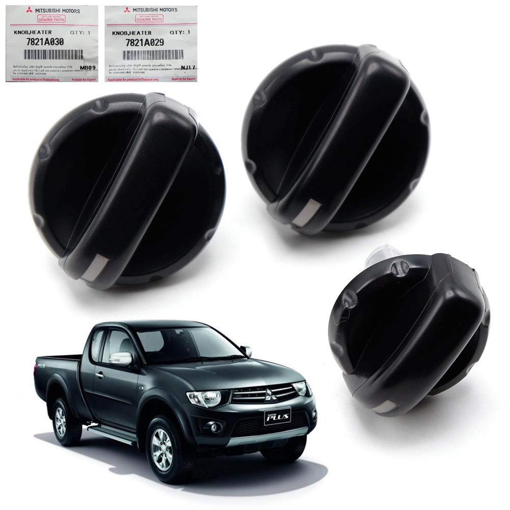 Nonstops Genuine Air Condition Cover Buttom Knobs Switch Fits Mitsubishi L200 2006 14 by Nonstops