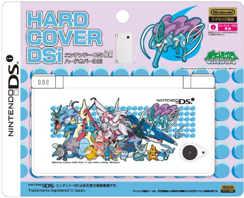 DSi Official Pokemon Diamond and Pearl Hard Cover Faceplate - Suicune & Water Types ()
