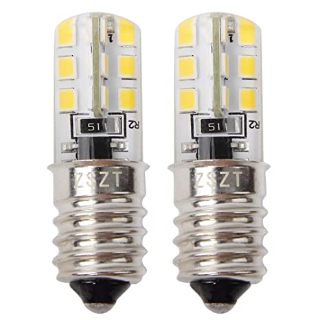 Bombillas de nevera E14 LED 2W (equivalente incandescente de 10 ...
