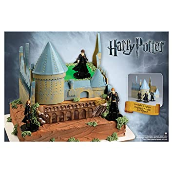 Harry Potter Castle Cake Decorating Kit Amazoncouk Toys Games