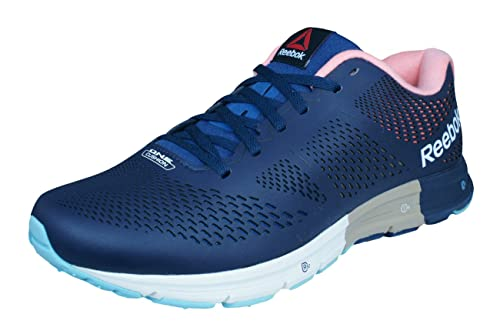 Reebok One Cushion 2.0 Lux Mens Running Trainers-Blue-8 c8fd0a68724