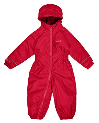 53cb7bd48 REGATTA SPLOSH III CHILDS WATERPROOF SNOW SUIT KIDS CHILDRENS BOYS ...