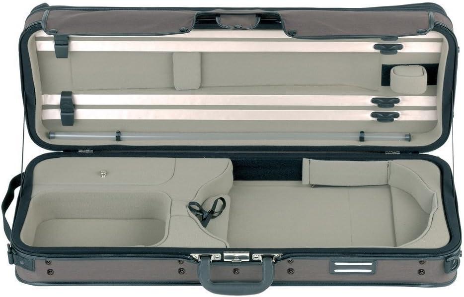 Gewa Estuche para Viola, Strato Super Light Weight - Dark Brown/Beige: Amazon.es: Instrumentos musicales