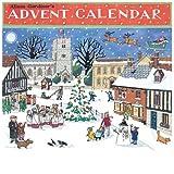 Alison Gardiner Famous Illustrator Unique Traditional Advent Calendar - Designed in England - Quaint English Village for the Merry Season