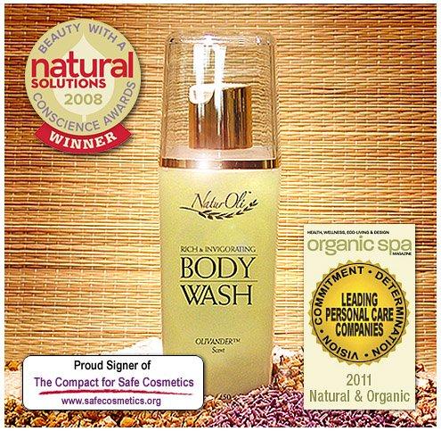 NaturOli Rich & tonifiant Body Wash - 8,4 oz Primé formulation naturelle! Absolument luxueuse baignoire ou douche. Merveilleux parfum organique qui est à la fois apaisante et inspirante. Vous allez sentir la différence NaturOli matin ou de la nuit!