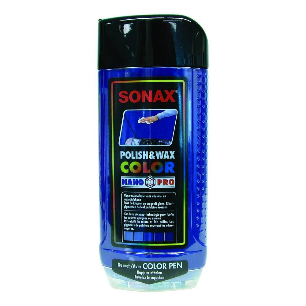 Sonax 1837552 500ml Colour Polish and Wax - Blue Sonax GmbH B00103AG5A
