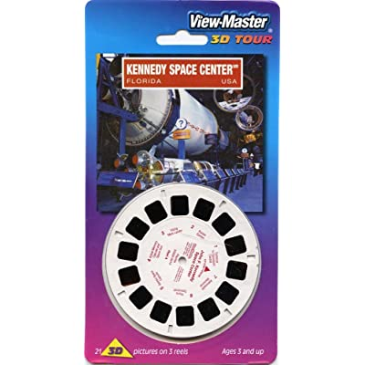 Kennedy Space Center - Classic ViewMaster - 3 Reels on Card- NEW: Toys & Games