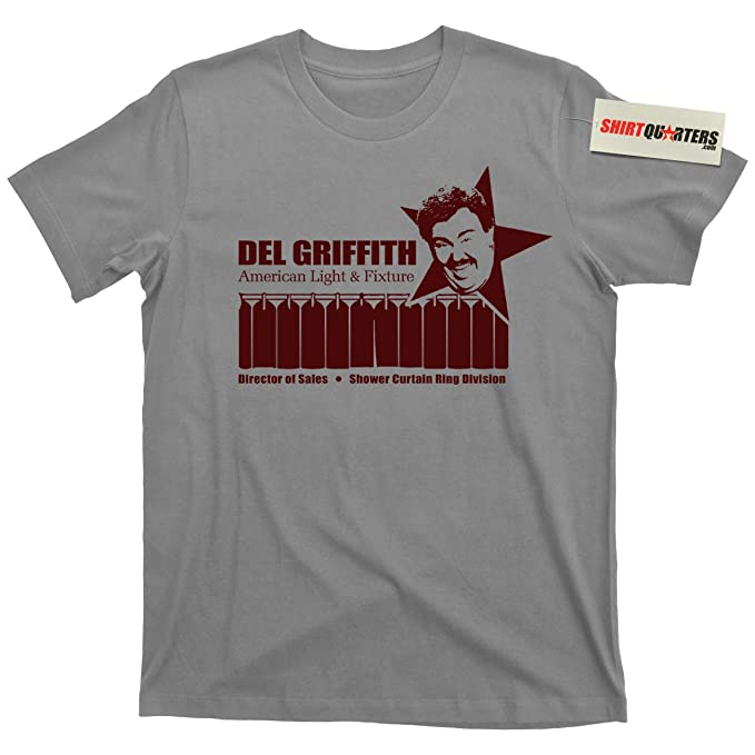 Del Griffith Planes Trains And Automobiles Shower Curtain Ring Salesman T Shirt
