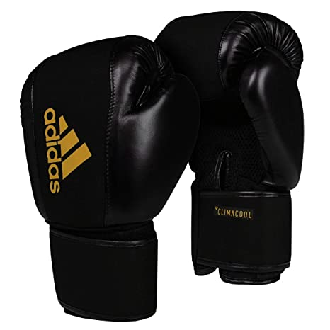 Adidas Boxing Gloves Speed 50 Black Gold