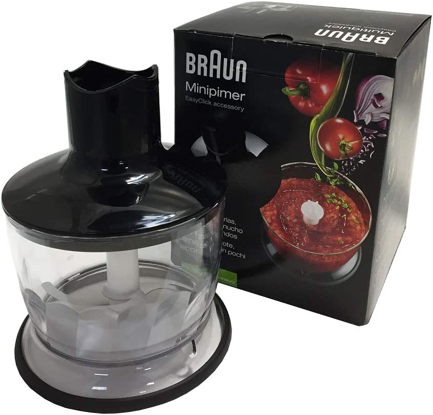 Braun MQ 30 Vaso de recambio para licuadora, base antideslizante, 0.5 L, plástico, Negro
