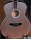 FAN MERCH Glitter Rhinestone Acoustic Miniature