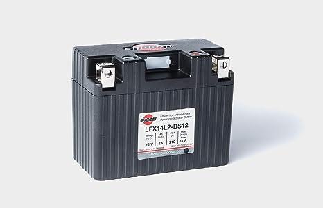 Amazon.com: Shorai Xtreme-Rate LifePO4 LFX - Batería de ...
