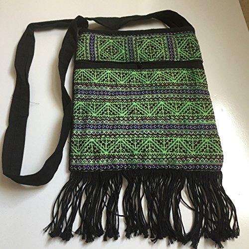 80 Horror Movie Costume Ideas (Kraft4Life Handmade Embroidery Cotton Crossbody Shoulder Cellphone Coin Purse Bag (002))