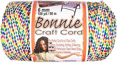 Craft County Bonnie Cord 100 Yards in Length 6mm Diameter Oatmeal