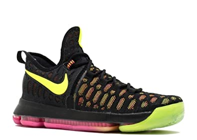 low priced f8f4f b3605 Nike Zoom KD 9 Mens Basketball Trainers 843392 Sneakers Shoes (US 8.5,  Multi Color