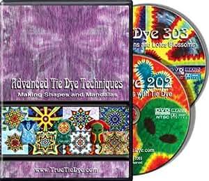 Advanced Tie Dye Techniques:  Making Shapes and Mandalas
