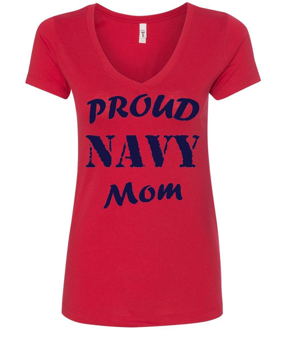 Tee Hunt Proud Navy Mom S T Shirt Patriotic Veteran Navy Seal Mother S Day