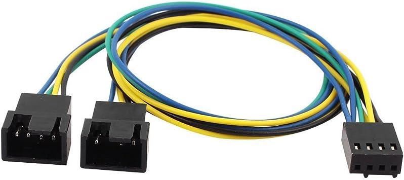 Cable de alimentacion de ventilador PC: Amazon.es: Electrónica