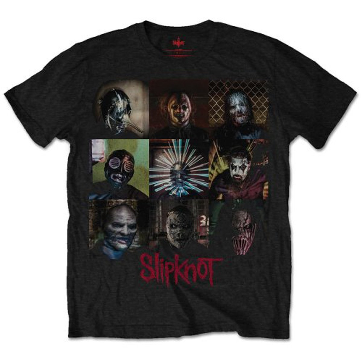 Slipknot S Blocks Tshirt Black
