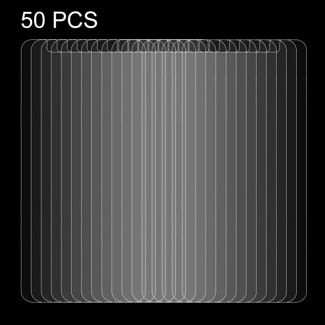 Clear Screen Protector XINGHCEN 50 PCS for 5.5 inch Asus ZenFone 3 Max ZC553TL 0.26mm 9H Surface Hardness Explosion-proof Non-full Screen Tempered Glass Screen Film No Retail Package Glass Film