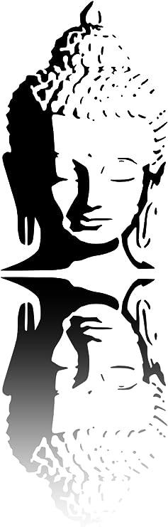 1 x A3 297 x 420 mm FASHION247 Peinture Murale Motif Bouddha Mylar st/éncile 190 microns