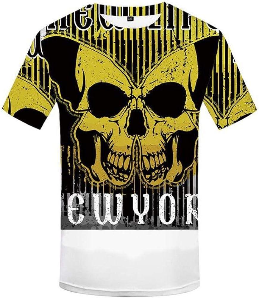 XYSONE Camiseta Hombre Negro Camiseta Militar Pluma Camiseta con Estampado 3D Punk Rock Ropa Anime Hip Hop Ropa para Hombre Casual Tops: Amazon.es: Ropa y accesorios