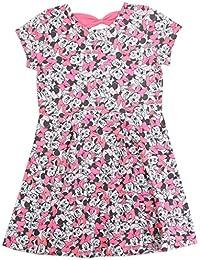 Disney Little Girls Allover Print Knit Dress