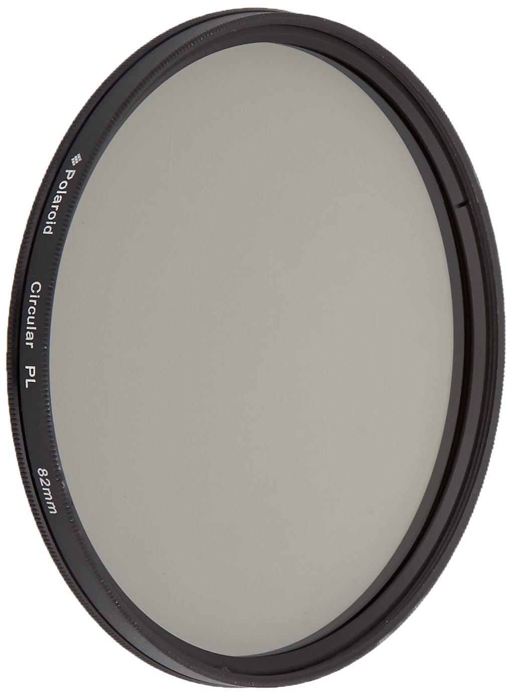 Polaroid Optics 82mm CPL Circular Polarizer Filter by Polaroid