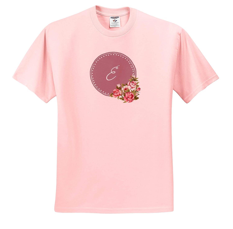 Monogram Image of E Monogram 3dRose Gabriella B T-Shirts