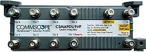 CommScope CSMF1APDU9VPI HomeConnect 9-Port Passive VoIP MoCA Amplifier for Comcast, Xfinity, RCN, Optimum, Wow, COX, Spectrum