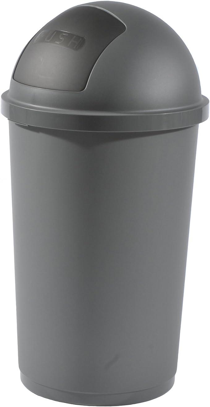 Mülleimer 19 Liter anthrazit Abfalleimer Abfallbehälter Müllsammler  Papierkorb Müll Abfall Eimer