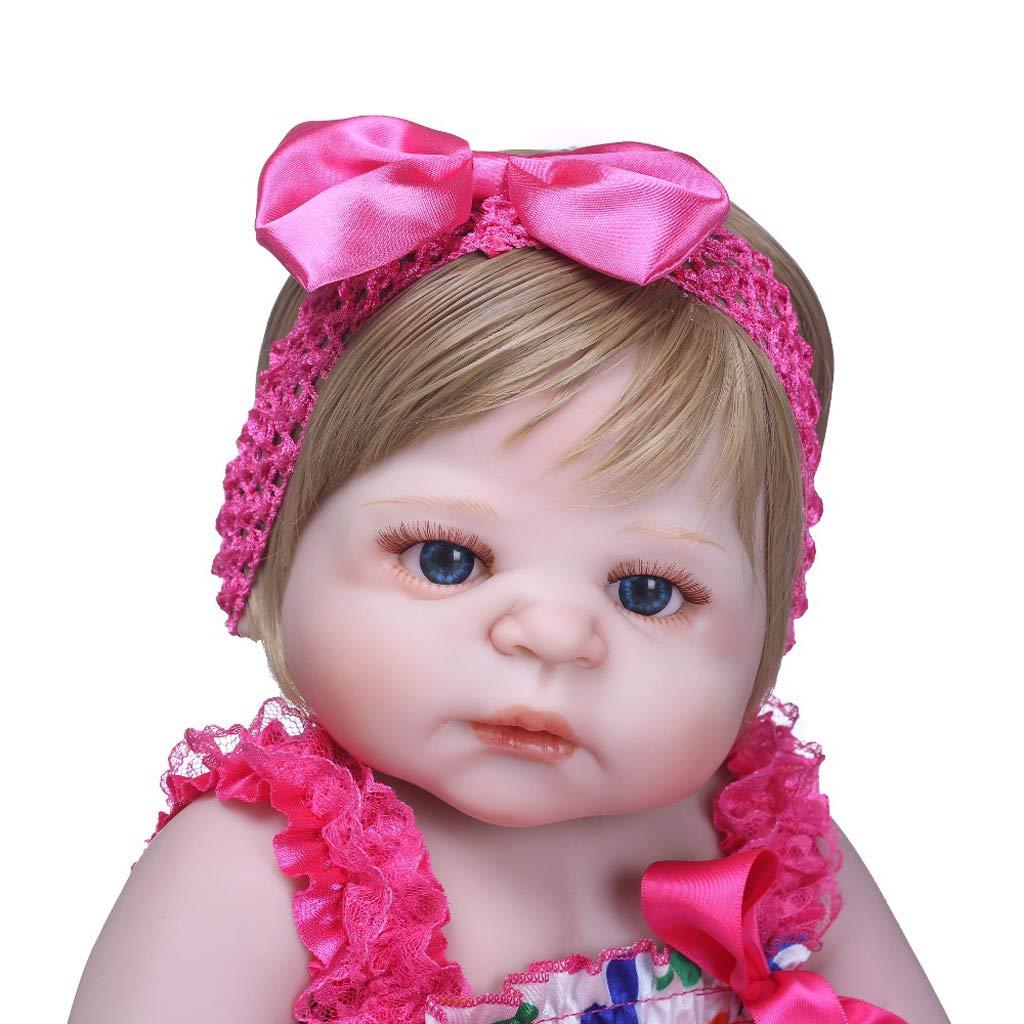 Fenteer 55cm Schöne Silikon Silikon Silikon Neugeborene Baby Puppe, Babypuppe mit Bekleidung, Kinder Spielzeug Geschenk -   2 0fbaf8