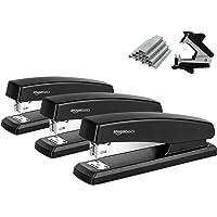 AmazonBasics Stapler Value Pack, Standard Stapler, Full-strip, 20 Sheet Capacity, Includes Staples & Staple Remover, 3…