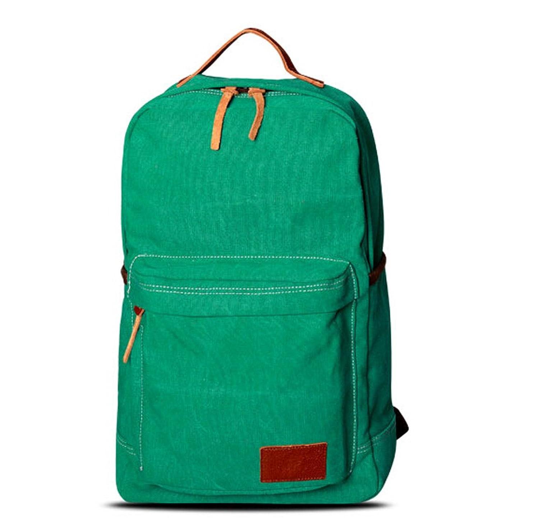 Alisa Betty Unisex Canvas Laptop Bag Travel Backpack Rucksack
