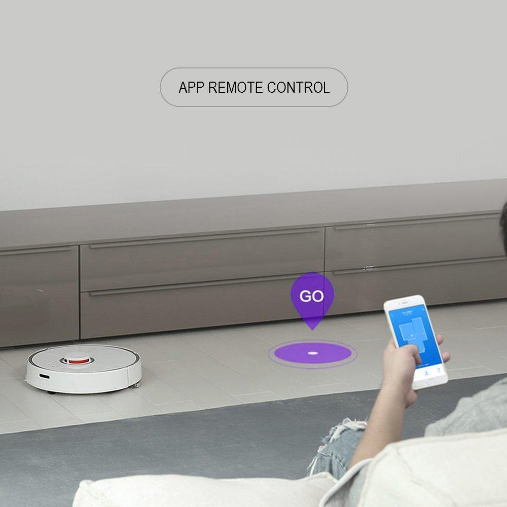 Xiaomi Smart Robot aspiradora Nueva Generación 2 in1 Sweep Mop LDS Parachoques Slam: Amazon.es: Hogar