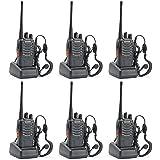 6 Pack - Baofeng BF-888S 5W UHF 400-470MHz Handheld Two-way Ham Radio