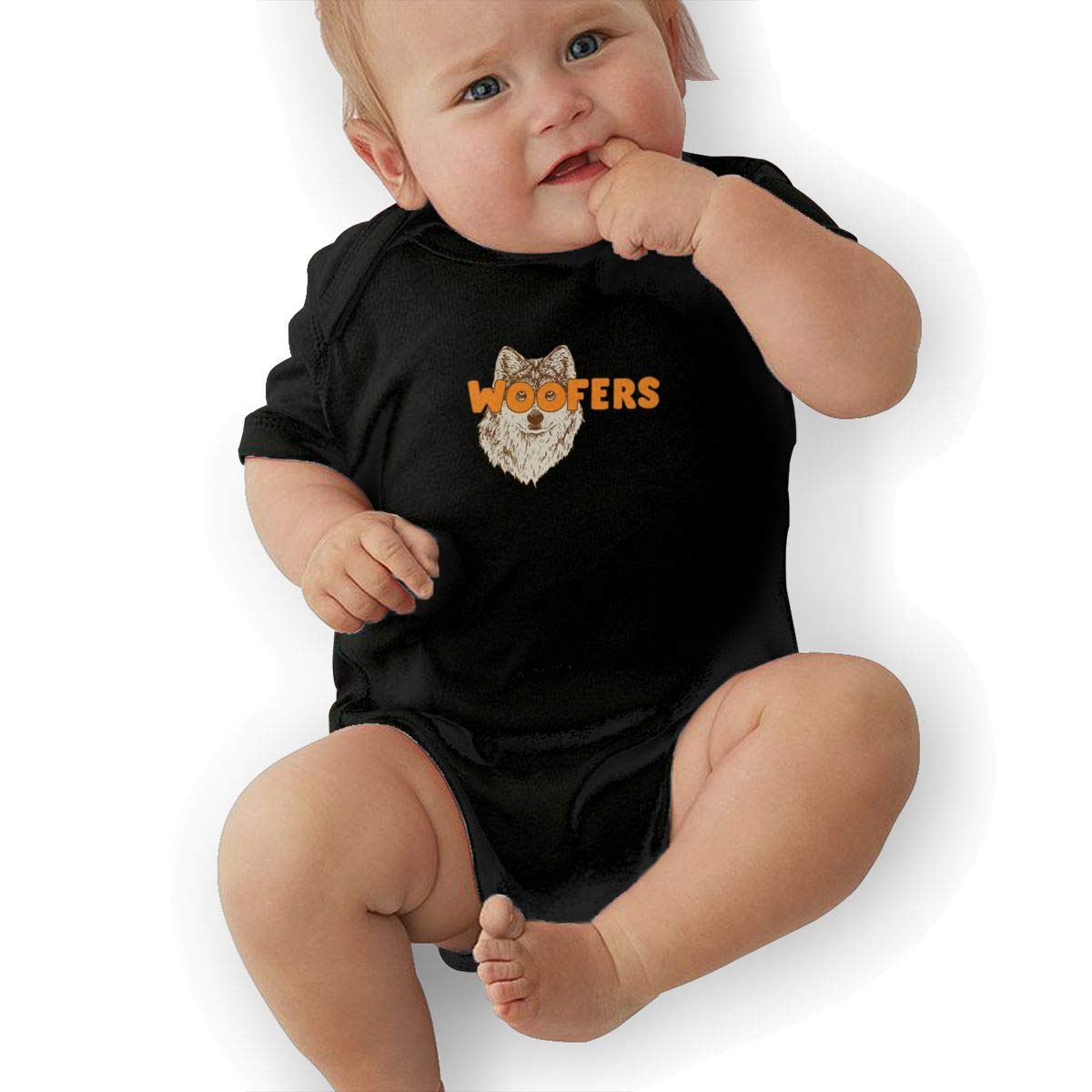 Bodysuits Clothes Onesies Jumpsuits Outfits Black HappyLifea Woofers Baby Pajamas