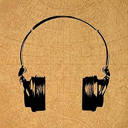Amazon.com: Vintage Headphones Music Print Retro Artwork ...