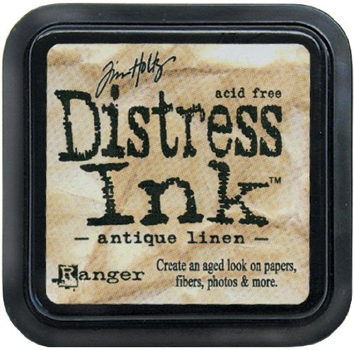 (Brand New Tim Holtz Distress Ink Pad-Antique Linen Brand New )