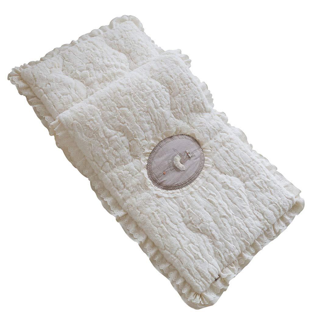 Furniture Accessories Cushion Sofa Cushion Pillow Cushion Flannel Plush Thick Winter Cushion Leather Sofa Seasoning Non-Slip (Color : White, Size : 6060cm)