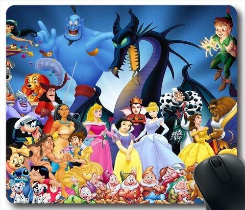Alle Disney Figuren Z90w1j Mauspad Amazonde Elektronik