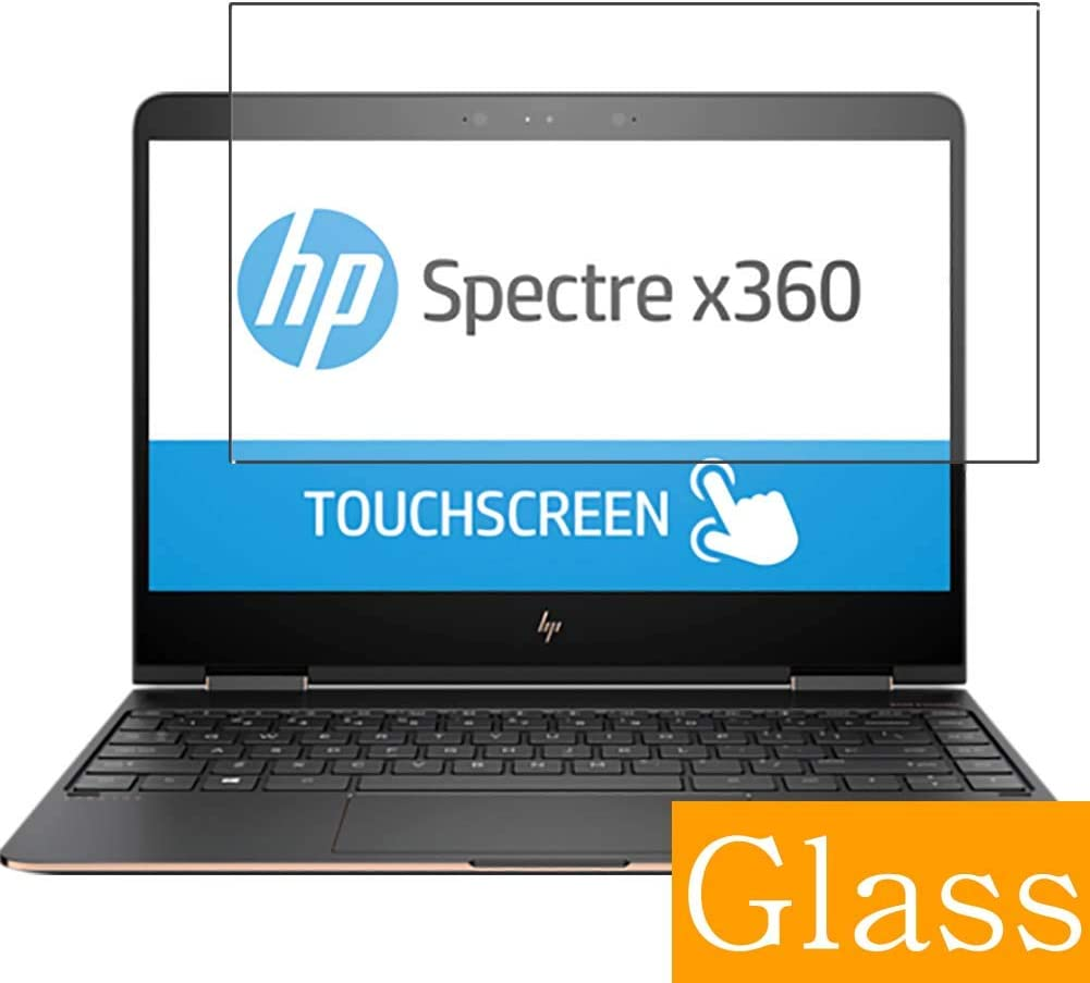 """Synvy Tempered Glass Screen Protector for HP Spectre x360 13-ac000 13.3"""" Visible Area Protective Screen Film Protectors 9H Anti-Scratch Bubble Free"""