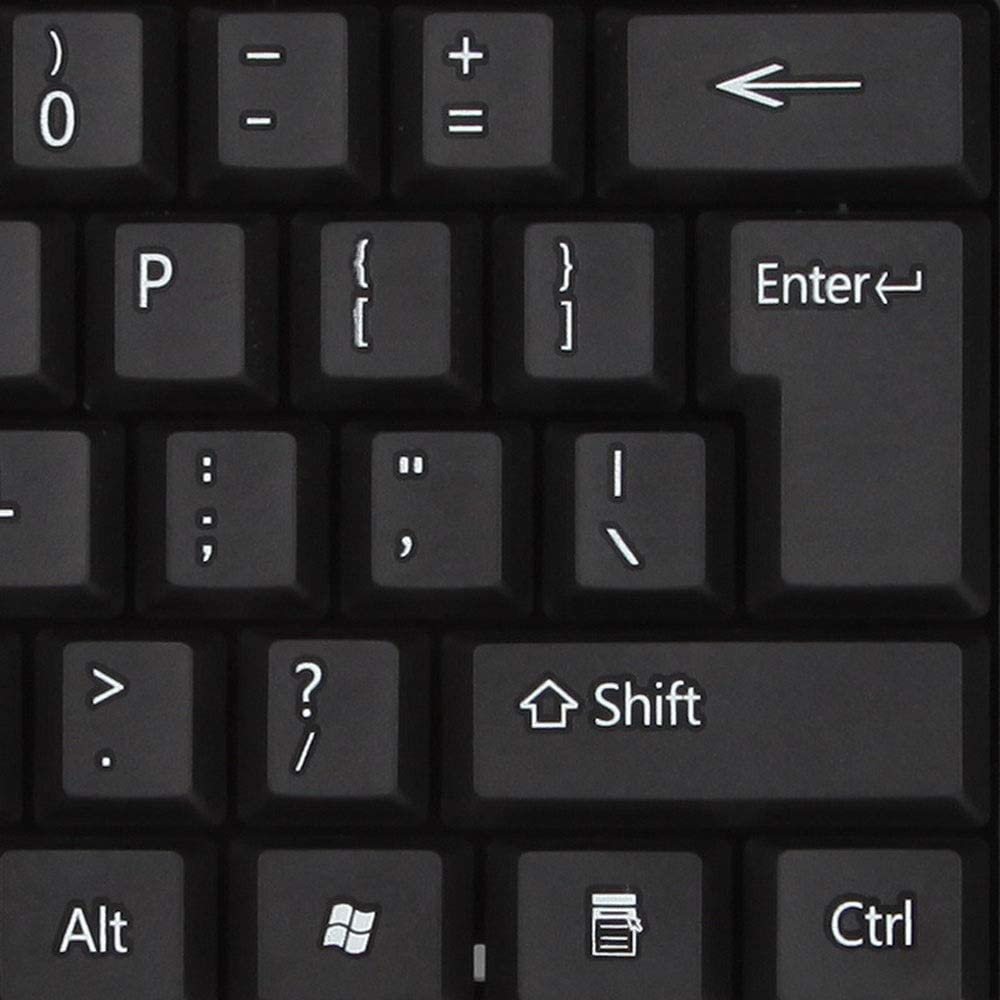 Matilda520 Keyboard Color : Black USB Cable Home Desktop Laptop Durable Waterproof Mute Single Button Keyboard Keyboard